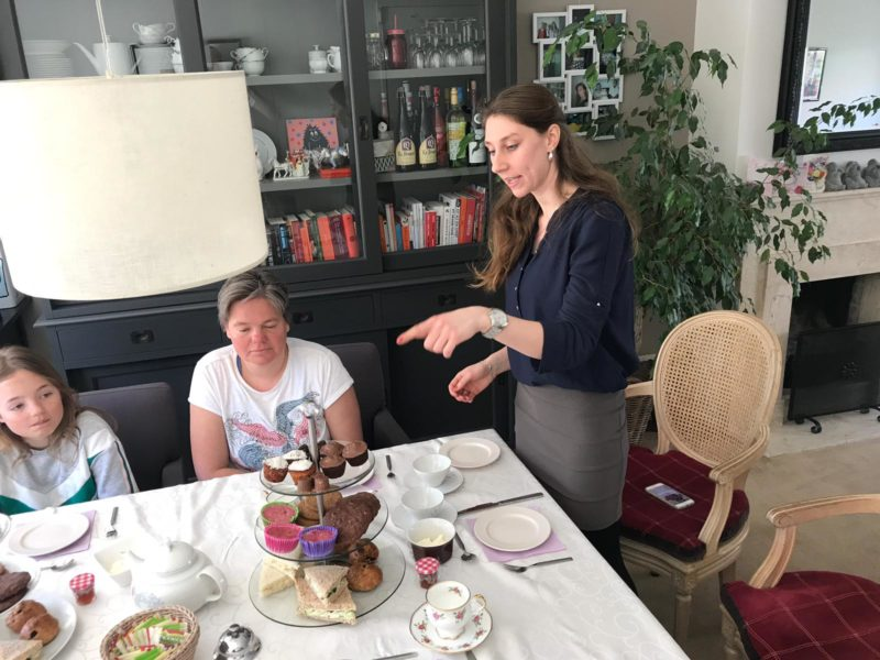 Huiskamer high tea